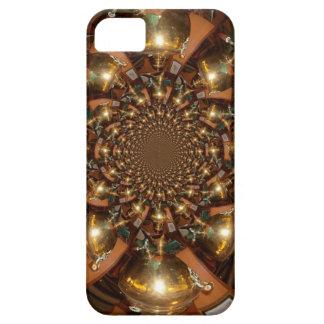 Plata y oro funda para iPhone SE/5/5s