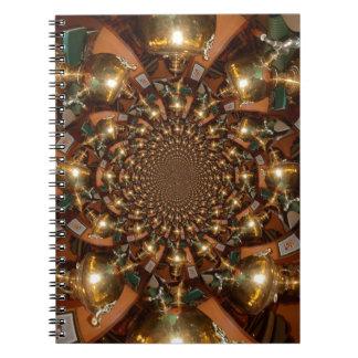 Plata y oro notebook