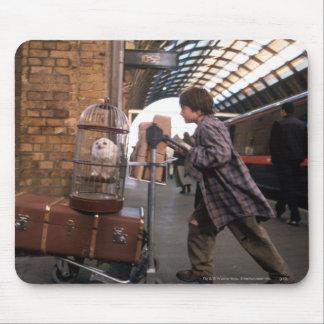 Plataforma 9 3/4 de Harry y de Hedwig Alfombrilla De Ratones