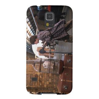 Plataforma 9 3/4 de Harry y de Hedwig Carcasa Para Galaxy S5