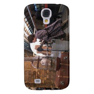 Plataforma 9 3/4 de Harry y de Hedwig Funda Para Galaxy S4