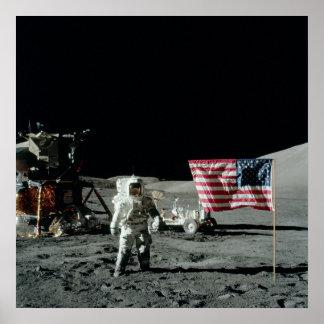 Plataforma de aterrizaje lunar de Apolo 17 Impresiones