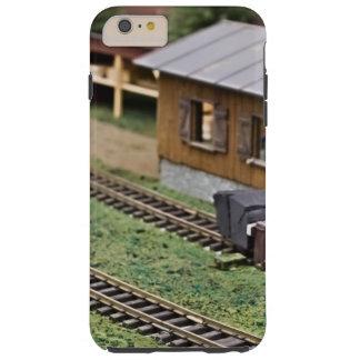 Plataforma del tren del juguete funda para iPhone 6 plus tough
