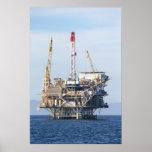 Plataforma petrolera poster