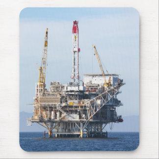 Plataforma petrolera tapete de raton