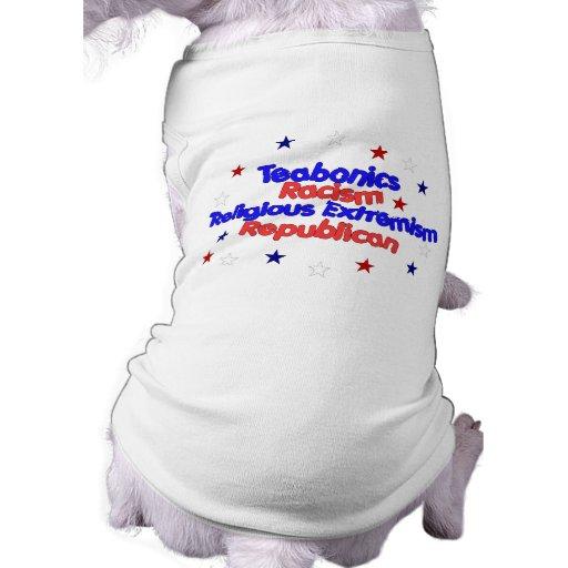 Plataforma republicana camisa de mascota