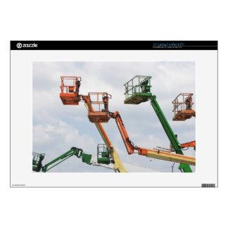 Plataformas de elevación industriales portátil calcomanías