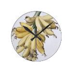 Plátano, 1816 reloj redondo mediano