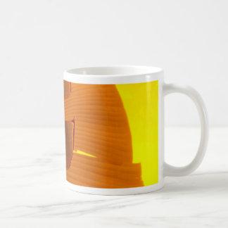 Plátano anaranjado taza clásica