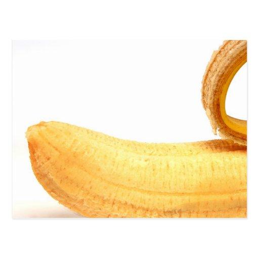 Plátano atractivo tarjetas postales
