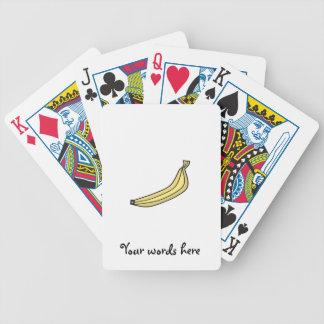Plátano Baraja Cartas De Poker