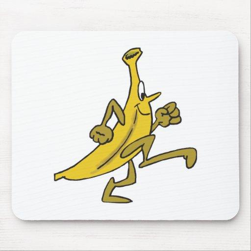 plátano corriente mouse pad