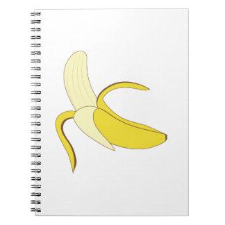 Plátano Libros De Apuntes Con Espiral