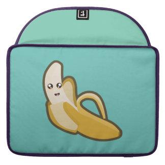 Plátano de Kawaii Funda Para Macbooks