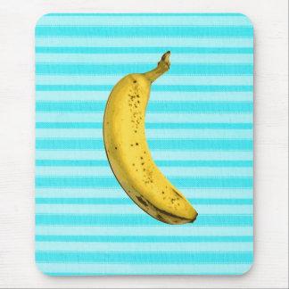 Plátano divertido alfombrilla de ratón