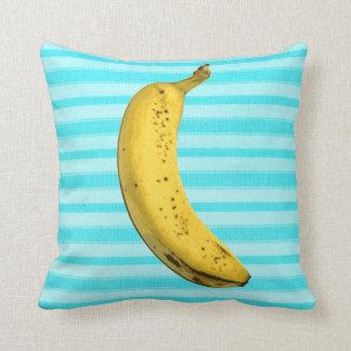 Plátano divertido cojín