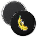 plátano feliz iman de nevera