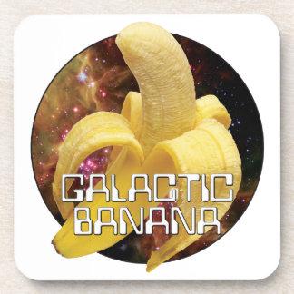 Plátano galáctico posavasos de bebida