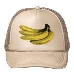 Plátano gráfico amarillo gorras