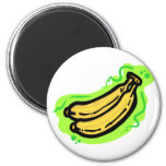 Plátano Imanes Para Frigoríficos