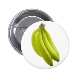 Plátano inmaduro pin redondo 5 cm