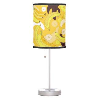 Plátano - lámpara amarilla