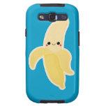 Plátano lindo de Kawaii Galaxy S3 Protector