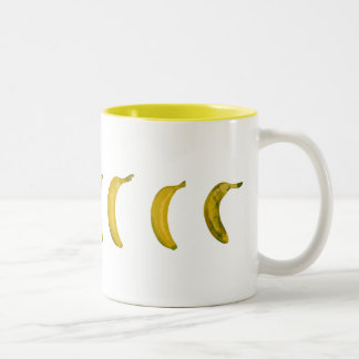 plátano-monopatín taza dos tonos