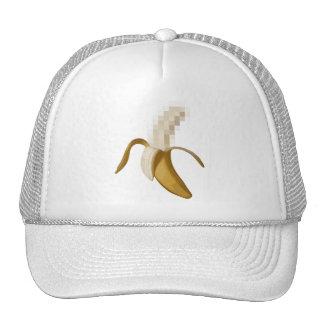 Plátano pelado censurado sucio gorra