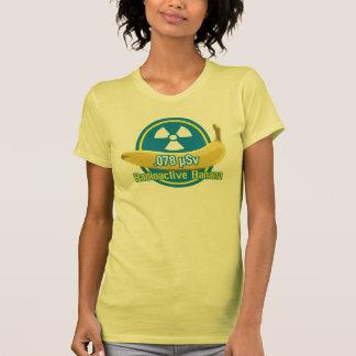 Plátano radiactivo camiseta