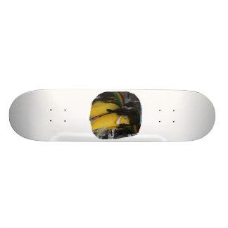 Plátano relleno del rasta en los parques de atracc patines personalizados