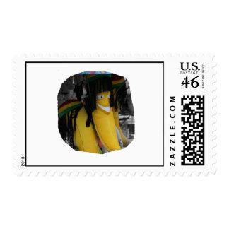 Plátano relleno del rasta en los parques de atracc