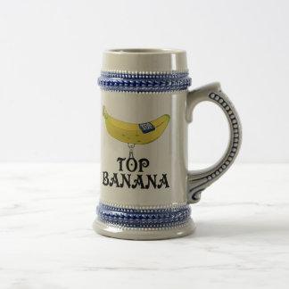 Plátano superior - modificado para requisitos jarra de cerveza