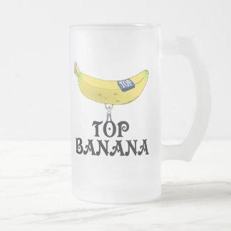 Plátano superior - modificado para requisitos taza de cristal