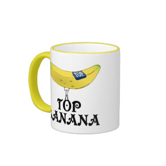 Plátano superior - modificado para requisitos taza de dos colores