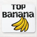 Plátano superior tapete de raton