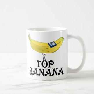 Plátano superior tazas de café