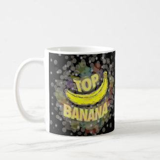 Plátano superior taza de café