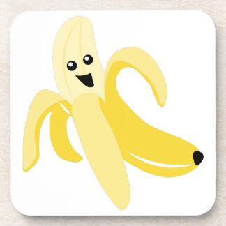 Plátano tonto posavasos de bebidas