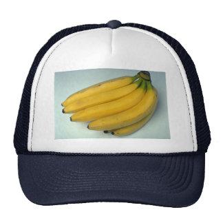 Plátanos amarillos deliciosos gorras