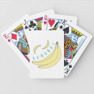 Plátanos Barajas De Cartas