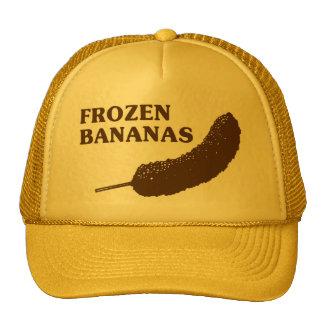 Plátanos congelados gorras de camionero