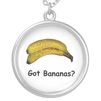Plátanos conseguidos colgante redondo