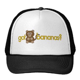 ¿Plátanos conseguidos? Gorros
