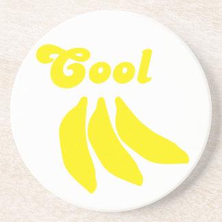 Plátanos frescos posavasos manualidades