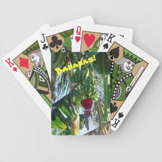 Plátanos jovenes cartas de juego