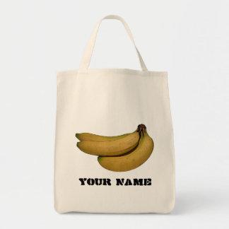 Plátanos - la bolsa de asas reutilizable del ultra