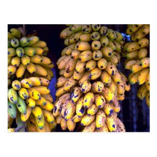 Plátanos para la venta en el mercado, Puerto Rico Postal