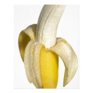 Plátanos que van membrete