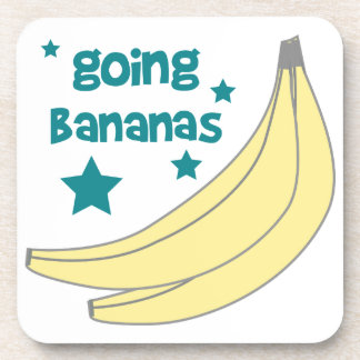 Plátanos que van posavasos de bebida